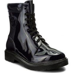 Kalosze ARMANI JEANS - 925118 7A678 31835 Dark Navy. Czarne buty zimowe damskie marki Armani Jeans, z jeansu. W wyprzedaży za 309,00 zł.