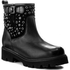 Botki BALDININI - 848307A23ZRICA0000 Nero. Czarne buty zimowe damskie Baldinini, ze skóry. W wyprzedaży za 1139,00 zł.