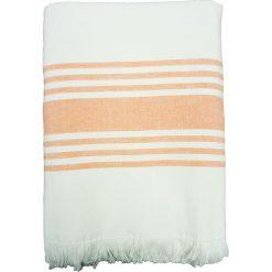 """Kąpielówki męskie: Fouta """"Karabouk"""" w kolorze pomarańczowo-białym – 160 x 90 cm"""