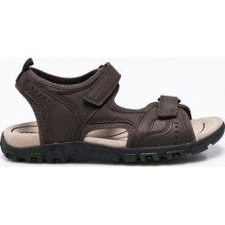 Geox - Sandały. Czarne sandały męskie Geox. W wyprzedaży za 219,90 zł.