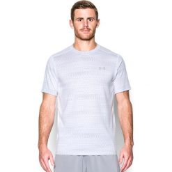 Under Armour Koszulka męska Raid biała r. L (1294215-001). Białe koszulki sportowe męskie marki Adidas, l, z jersey, do piłki nożnej. Za 105,39 zł.