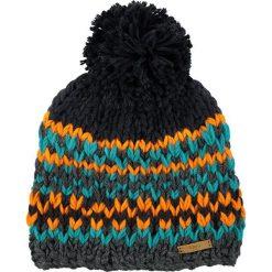 Barts - Czapka Jubba. Brązowe czapki zimowe damskie marki Barts, na zimę, z dzianiny. W wyprzedaży za 89,90 zł.
