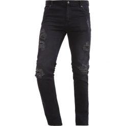 Jeansy męskie regular: Black Kaviar GONDHOL Jeansy Straight Leg black