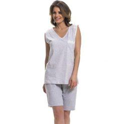 Piżamy damskie: Piżama w kolorze szarym