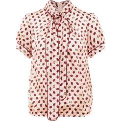 IBlues EMANUEL Bluzka rosa. Czerwone bluzki damskie iBlues, z materiału. Za 649,00 zł.