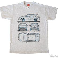 Koszulka VOLKSWAGEN GOLF 7 - 1 grey. Szare bluzki z golfem marki Pakamera. Za 77,00 zł.