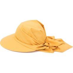 Kapelusz damski Daszek Creation żółty. Żółte kapelusze damskie Art of Polo. Za 30,84 zł.