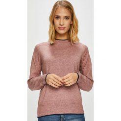 Jacqueline de Yong - Sweter. Różowe swetry klasyczne damskie marki Jacqueline de Yong, l, z dzianiny, z okrągłym kołnierzem. Za 119,90 zł.