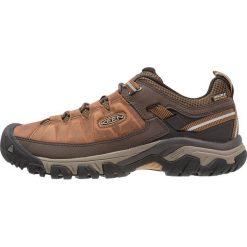 Keen TARGHEE III WP Obuwie hikingowe big ben/golden brown. Brązowe buty sportowe męskie marki Keen, z materiału, outdoorowe. Za 469,00 zł.