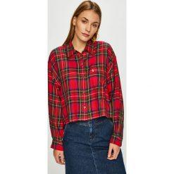 Levi's - Koszula. Brązowe koszule damskie w kratkę marki Levi's®, l, z bawełny, klasyczne, z klasycznym kołnierzykiem, z długim rękawem. Za 259,90 zł.