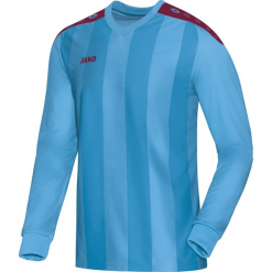 Koszulki sportowe męskie: Jako Porto długi rękaw Koszulka – mężczyźni – skyblue / bordowy _ s