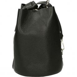 Torba - 4-290-O D NER. Czarne torebki klasyczne damskie marki Venezia, ze skóry. Za 299,00 zł.