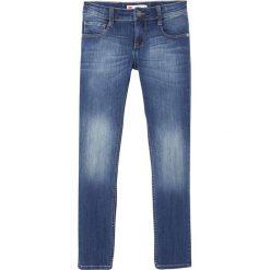 Jeansy slim. Szare spodnie chłopięce LEVI'S KIDS, z bawełny, z standardowym stanem. Za 306,56 zł.