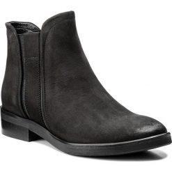 Sztyblety SERGIO BARDI - Balmuccia FW127281517GM 401. Czarne buty zimowe damskie Sergio Bardi, z nubiku, na obcasie. W wyprzedaży za 219,00 zł.
