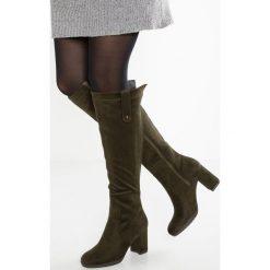 Anna Field Muszkieterki khaki. Brązowe buty zimowe damskie marki Anna Field, z materiału. W wyprzedaży za 146,30 zł.