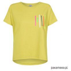 T-shirt basic OLIWKA I NEONY. Żółte t-shirty damskie Pakamera, z nadrukiem, z bawełny. Za 120,00 zł.