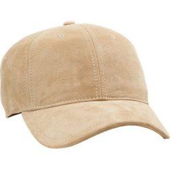 Rag & bone LENOX Czapka z daszkiem taupe. Białe czapki z daszkiem męskie rag & bone, z materiału. W wyprzedaży za 356,95 zł.