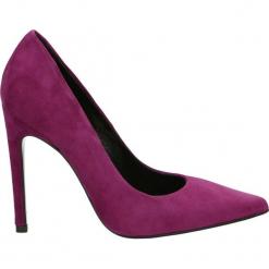 Czółenka - 1900 CAM UVA. Brązowe buty ślubne damskie Venezia, ze skóry. Za 349,00 zł.