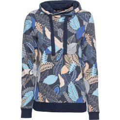 Bluza z nadrukiem bonprix ciemnoniebieski z nadrukiem. Niebieskie bluzy z nadrukiem damskie marki bonprix. Za 89,99 zł.