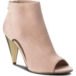 Botki EVA MINGE - Pamplona 3T 18SF1372320ES 812. Czerwone buty zimowe damskie Eva Minge, ze skóry, na obcasie. W wyprzedaży za 379,00 zł.