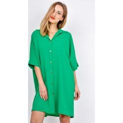 Bluzki, topy, tuniki: Tunika koszulowa z guzikami