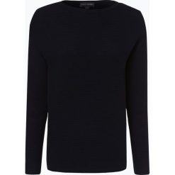 Franco Callegari - Sweter damski, niebieski. Zielone swetry klasyczne damskie marki Franco Callegari, z napisami. Za 229,95 zł.