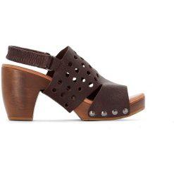 Rzymianki damskie: Sandały skórzane Delina