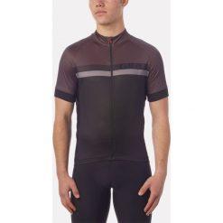 GIRO Koszulka rowerowa Chrono Sport Sublimated Jersey czarno-brązowa r. M  (GR-8053453). Odzież rowerowa męska Giro, m. Za 180,44 zł.