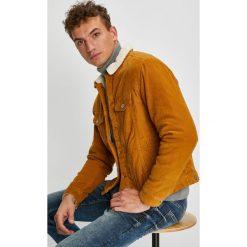 Jack & Jones - Kurtka. Czarne kurtki męskie przejściowe marki Jack & Jones, l, z bawełny, z klasycznym kołnierzykiem, z długim rękawem. W wyprzedaży za 259,90 zł.