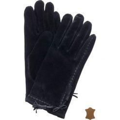 Rękawiczki damskie: Zamszowe rękawiczki z frędzlami
