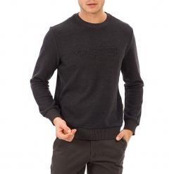 Sweter w kolorze antracytowym. Szare swetry klasyczne męskie GALVANNI, l, z okrągłym kołnierzem. W wyprzedaży za 139,95 zł.