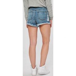 Missguided - Szorty. Szare szorty jeansowe damskie marki Missguided, casualowe, z podwyższonym stanem. W wyprzedaży za 79,90 zł.