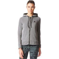 Adidas Bluza damska SP ID FZ Hoodie szara r.S (CE7612). Czarne bluzy sportowe damskie marki DOMYOS, z elastanu. Za 174,44 zł.