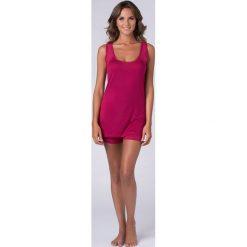 Piżama damska Virginia. Różowe piżamy damskie Astratex, z tkaniny. Za 110,99 zł.