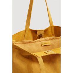 Shopper bag damskie: Mango – Torebka skórzana Julia