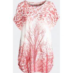 Różowy T-shirt Til the Mornin'. Czerwone bluzki damskie marki Born2be, l. Za 29,99 zł.