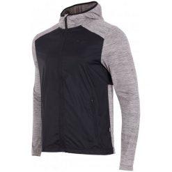 4F Męska Bluza H4Z17 blmf002 Jasny Szary Melanż M. Szare bluzy męskie rozpinane marki 4f, m, melanż, z elastanu. W wyprzedaży za 119,00 zł.