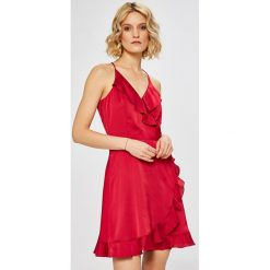 Morgan - Sukienka. Szare sukienki Morgan, z poliesteru, eleganckie, mini, rozkloszowane. W wyprzedaży za 229,90 zł.