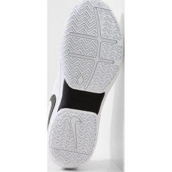 Nike Performance AIR ZOOM PRESTIGE HC Obuwie multicourt white/black. Białe buty do tenisa męskie marki Nike Performance, z materiału. Za 419,00 zł.