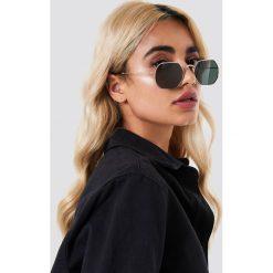 NA-KD Accessories Okulary przeciwsłoneczne Octagon - Black. Czarne okulary przeciwsłoneczne damskie aviatory NA-KD Accessories. Za 60,95 zł.