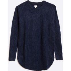 Pepe Jeans - Sweter dziecięcy. Szare swetry dziewczęce marki bonprix, m, melanż, z dzianiny, z kontrastowym kołnierzykiem. W wyprzedaży za 119,90 zł.
