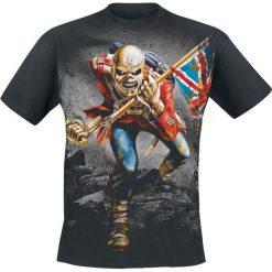 Iron Maiden The Trooper T-Shirt czarny. Czarne t-shirty męskie z nadrukiem Iron Maiden, xl, z dekoltem na plecach. Za 99,90 zł.