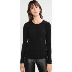 Bluzki asymetryczne: James Perse HIGH GAUGE Bluzka z długim rękawem black
