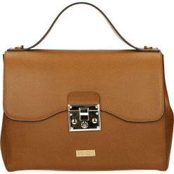 Torba - 90-8456-M P C. Żółte torebki klasyczne damskie marki Venezia, ze skóry. Za 299,00 zł.