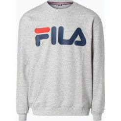 FILA - Męska bluza nierozpinana, szary. Szare bejsbolówki męskie Fila, l, z dresówki. Za 249,95 zł.