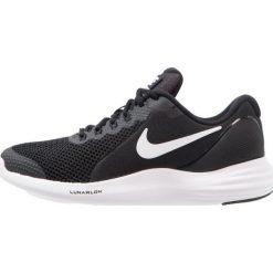 Nike Performance LUNAR APPARENT Obuwie do biegania treningowe black/white/cool grey. Czarne buty do biegania męskie Nike Performance, z materiału. W wyprzedaży za 237,15 zł.