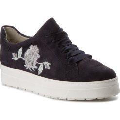 Sneakersy CAPRICE - 9-23702-30 Ocean Suede 857. Niebieskie sneakersy damskie Caprice, z materiału. W wyprzedaży za 199,00 zł.