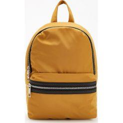 Musztardowy plecak - Żółty. Żółte plecaki damskie Reserved. Za 89,99 zł.