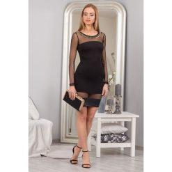 Sukienka MINI czarna TA551. Białe sukienki mini marki Fasardi, l. Za 59,00 zł.