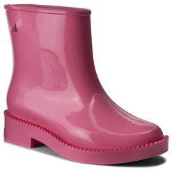 Kalosze MELISSA - Rain Drop Boot Ad 32185 Pink 01369. Czerwone buty zimowe damskie Melissa, z materiału. W wyprzedaży za 279,00 zł.